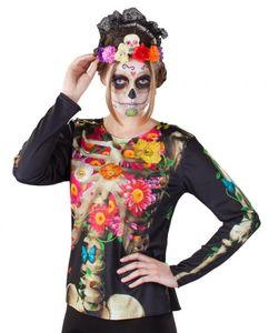 Shirt für Damen - Skelett - Einheitsgröße
