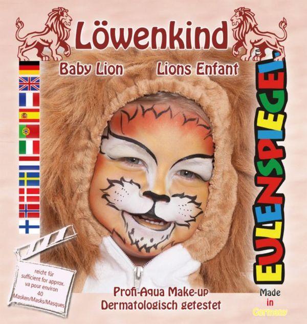 Schminkset - Löwenkind - Make-Up mit Zubehör