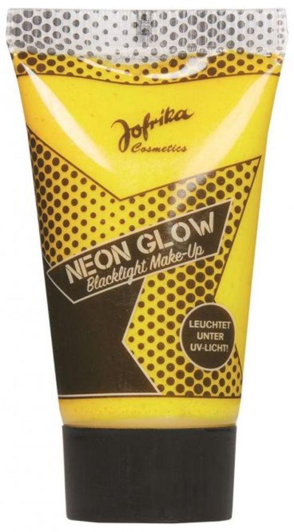 Blacklight Make-up - Neon Glow - 30 ml - in gelb