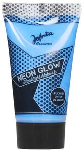 Blacklight Make-up - Neon Glow - 30 ml - in blau