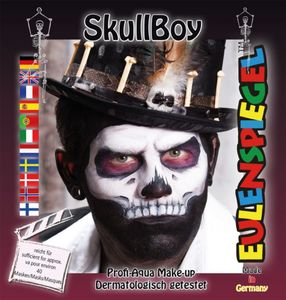 Schminkset - SkullBoy - Make-Up mit Zubehör