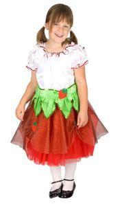 Kostüm Erdbeere Kleid