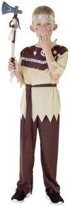 Kostüm - Indianerjunge - für Kinder - 4-teilig - verschiedene Größen