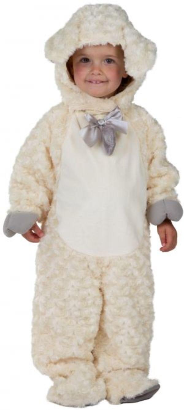 Kostüm - Schäfchen - für Kinder - Größe 86/92