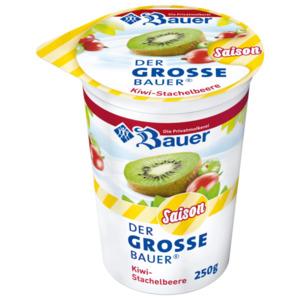 Bauer Frucht-Joghurt Kiwi Stachelbeere 250g