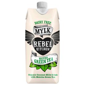 Rebel Kitchen Bio Coconut Milk Drink Mylk Matcha Green Tea 330ml