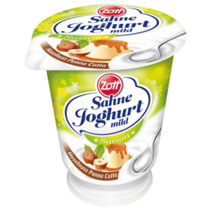 Zott Sahnejoghurt Nuss-Panacotta 140g