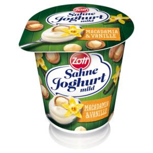 Zott Sahnejoghurt Macadamia-Vanille 140g