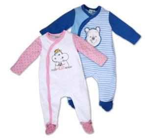 PUMMEL EINHORN oder WINNIE THE POOH Baby-Overall