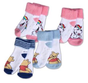PUMMEL EINHORN oder WINNIE THE POOH Baby-Socken