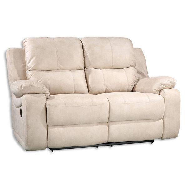 Sofa 2 Sitzer Beige Mit Relaxfunktion 154 Cm Breit Von Roller