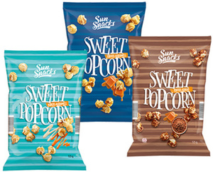Sun Snacks Sweet Popcorn