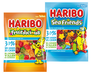 HARIBO Fruitilicious oder Sea Friends