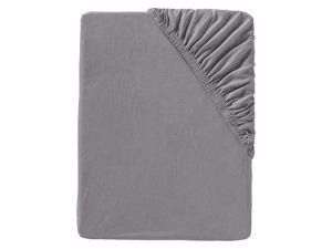 MERADISO® 2er Jersey-Spannbettlaken, 90-100 x 200 cm