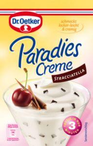 Dr. Oetker Paradies Creme Stracciatella für 300 ml Milch
