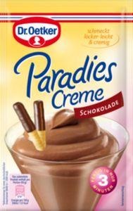Paradies Creme Schoko Dr. Oetker für 300 ml Milch