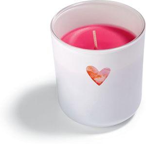 Bolsius Duftglas mit Herzdesign