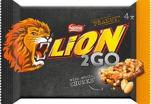 Lion2Go Peanut 132g