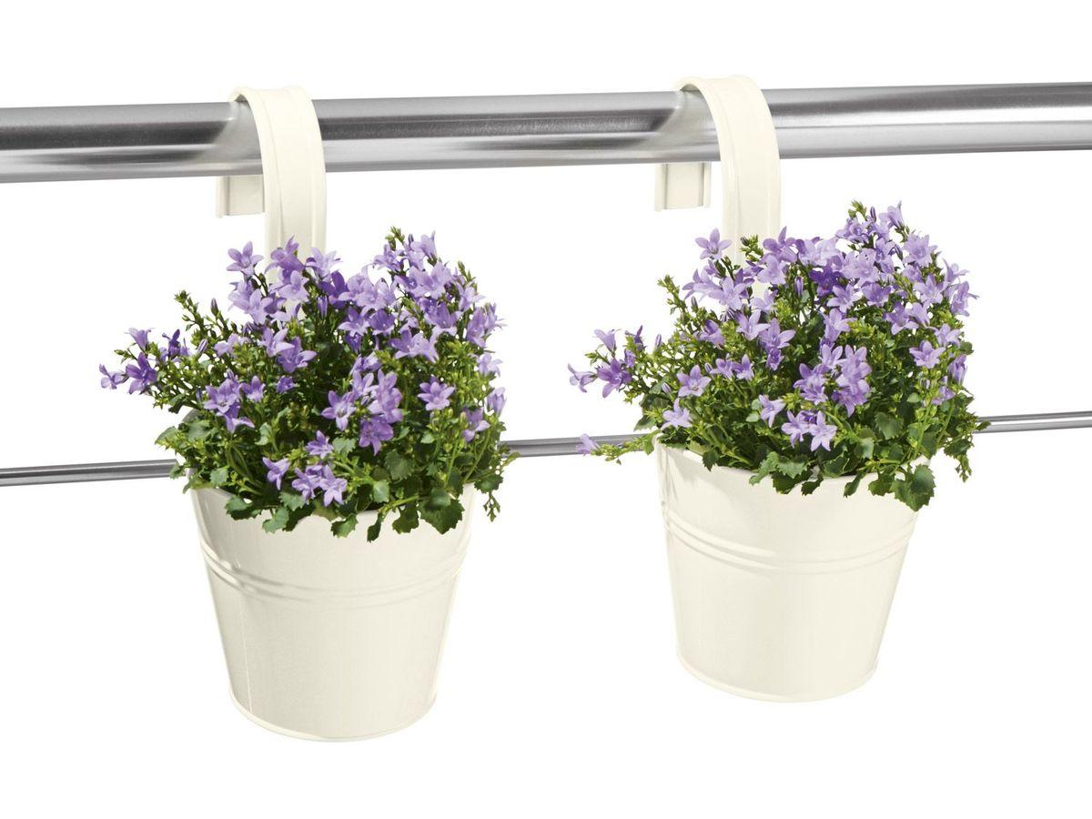 Bild 2 von FLORABEST® Pflanzgefäß mit Hängebügel