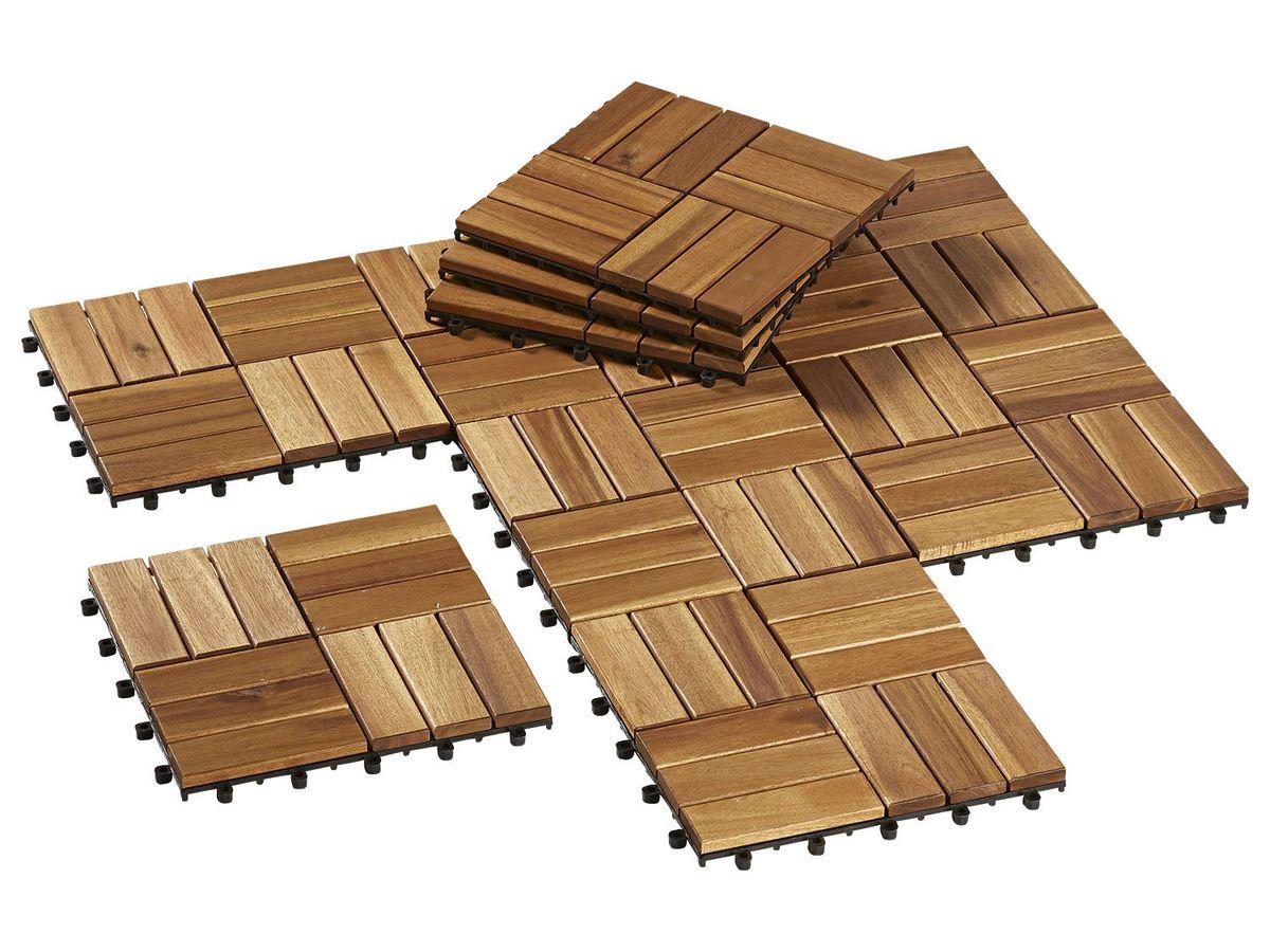 Bild 1 von FLORABEST® Holzfliesen 10er