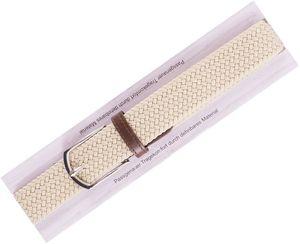 Herren Herren Stretchgürtel - Gr. 105cm  beige