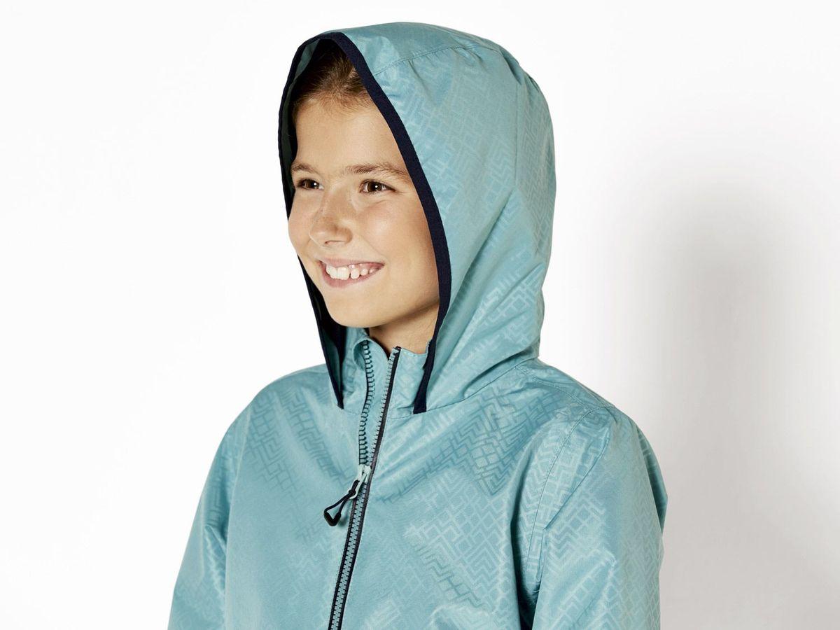 Bild 4 von CRIVIT® Kinder Mädchen Regenjacke
