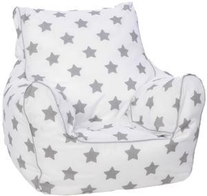 knorr toys Kindersitzsack Stars Grey