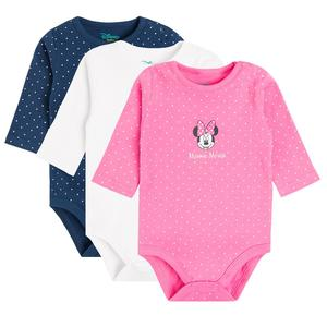 Baby Body 3er Pack Minnie Mouse