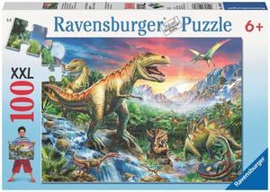 Ravensburger Puzzle Bei den Dinosauriern