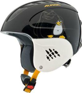 Skihelm Carat black-pinguin Gr. 48-52