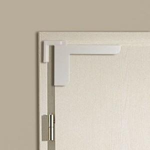 WESTAG Mini-Türschließer ,  weiß, ohne Bohren