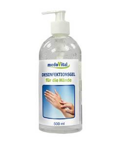 Desinfektionsgel für die Hände, 500 ml