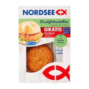 Nordsee Fischfrikadellen Bremer Art