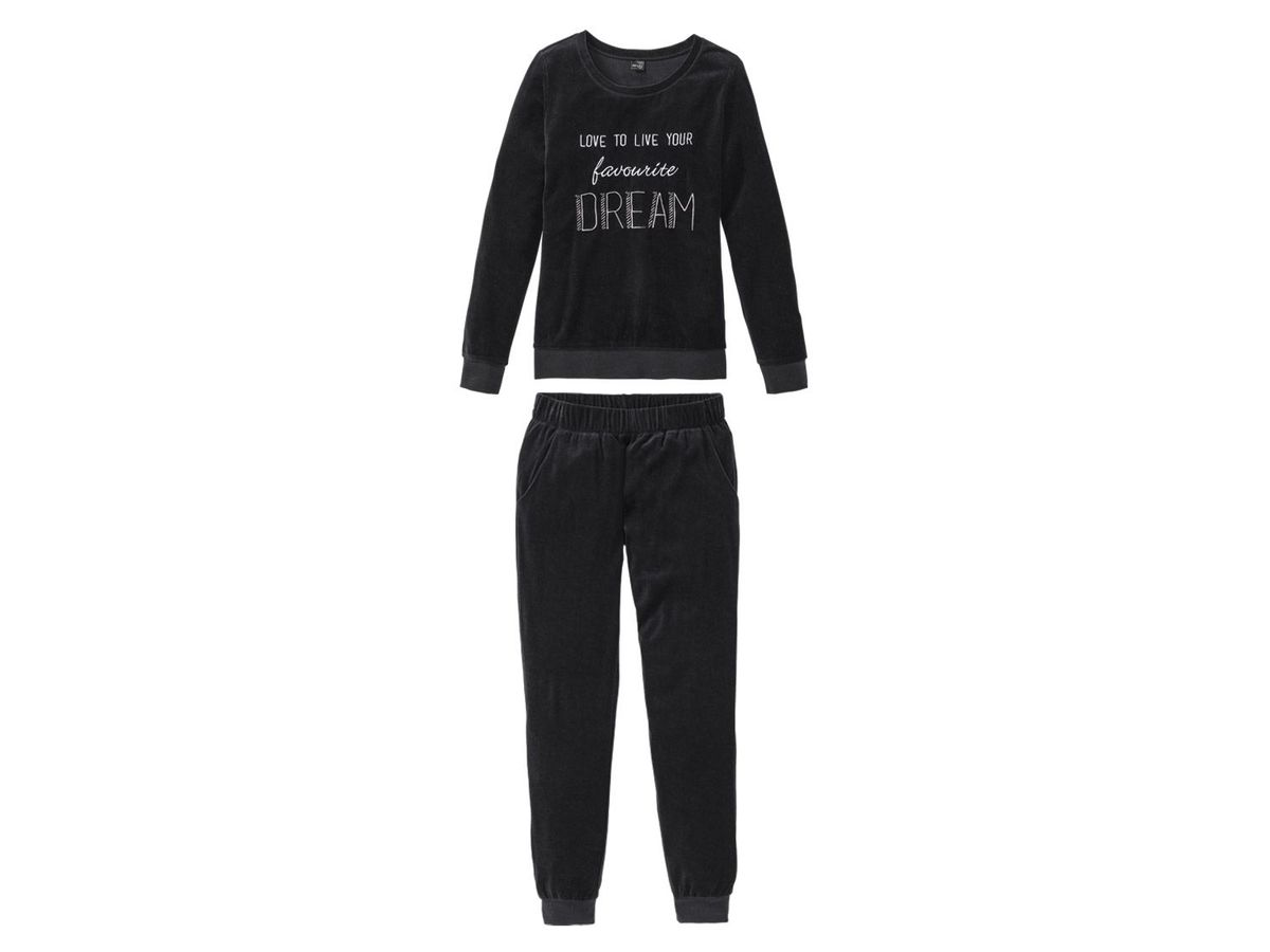 Bild 1 von ESMARA® Lingerie Damen Nicki-Pyjama