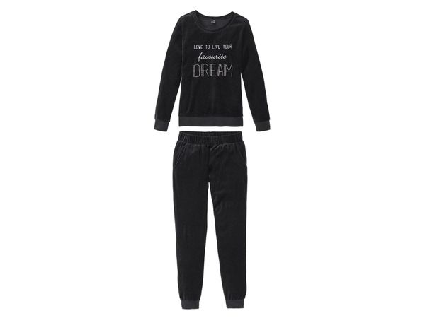 ESMARA® Lingerie Damen Nicki-Pyjama