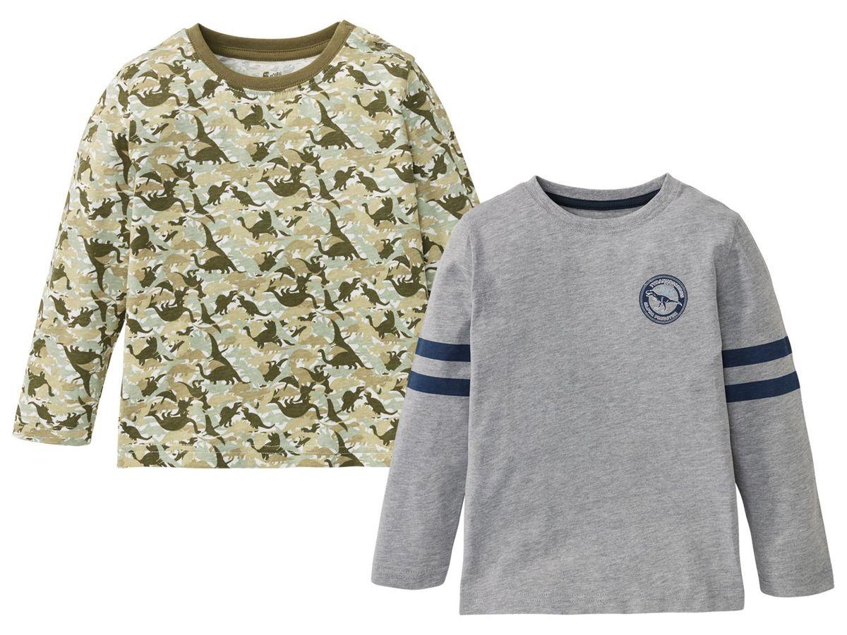 Bild 1 von LUPILU® 2 Kleinkinder Jungen Langsarmshirts