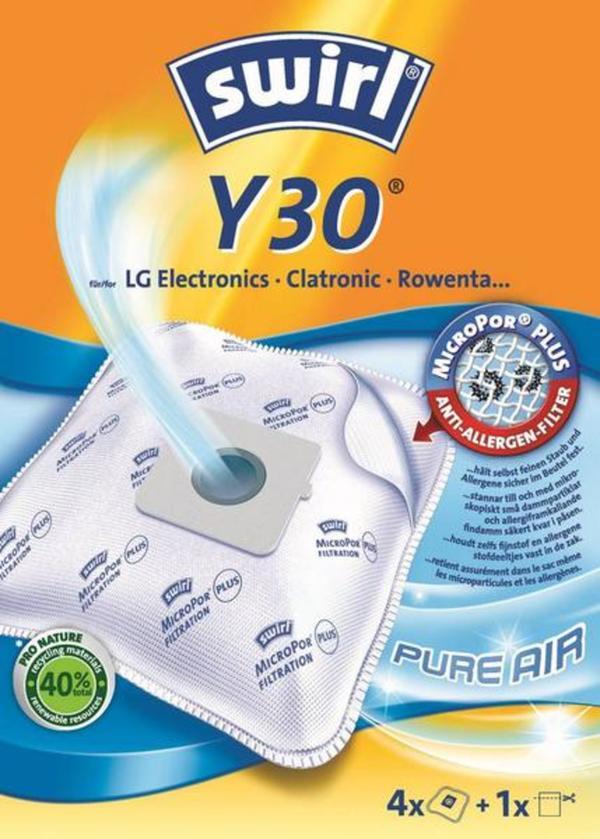 Swirl Y30 MicroPor® Plus Staubsaugerbeutel 4St.
