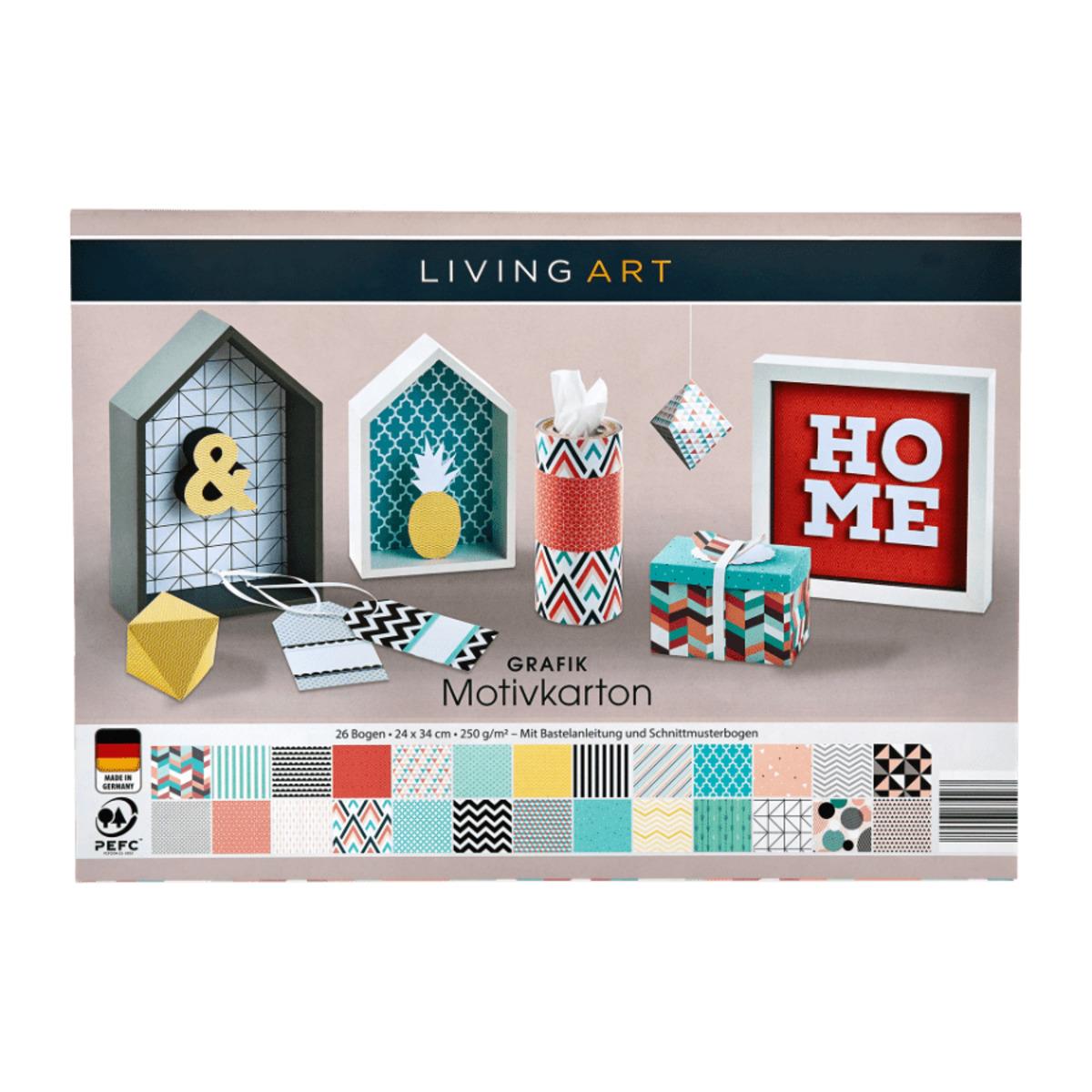Bild 3 von LIVING ART     Bastel-Set
