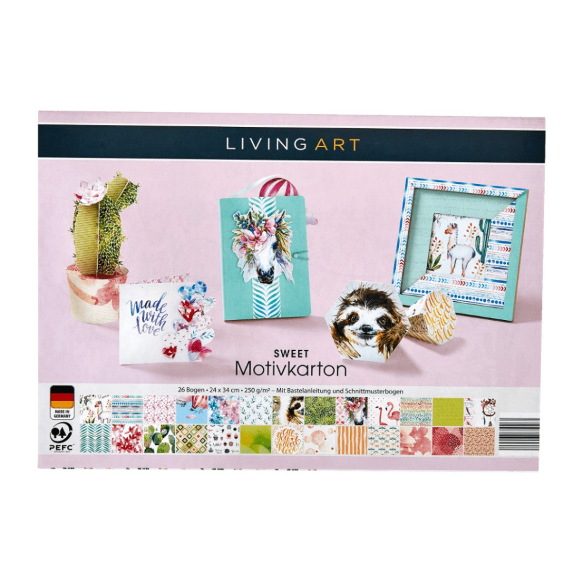 Bild 5 von LIVING ART     Bastel-Set