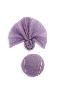 Lavendelfarbenes Konjac-Schwammset
