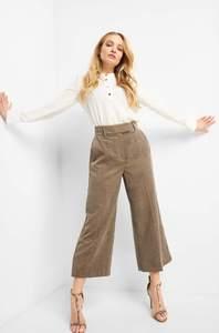 Culotte-Hose aus Cord