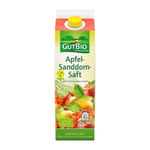 GUT BIO     Bio Apfel-Sanddorn-Saft