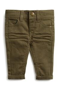 Khakifarbene Jeans für Babys (J)