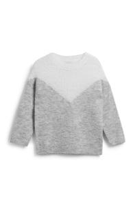 Pullover mit Chevron-Muster (Mädchen)