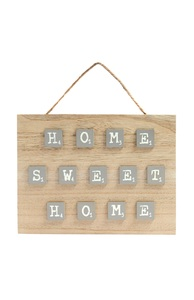 """""""Home Sweet Home"""" Holzschild"""