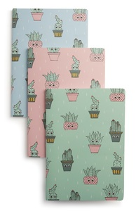 Notizbuch mit Kaktusdesign