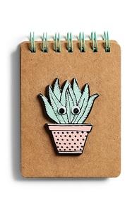 Notizbuch mit Pflanzenmotiv