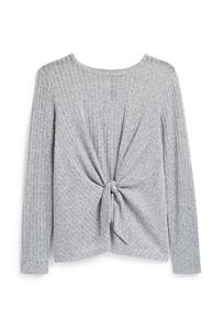 Grauer Pullover (Teeny Girls)
