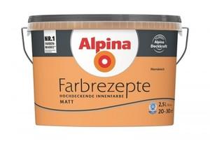 Alpina Farbrezepte ,  2,5 l, Marrakesch