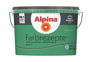 Alpina Farbrezepte ,  2,5 l, Wildes Paradies
